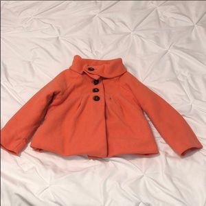 Old navy 5T coral coat